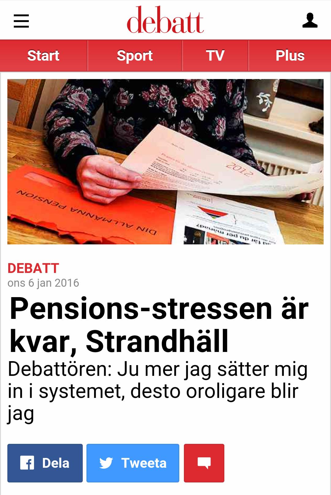 2016-01: Aftonbladet Debatt