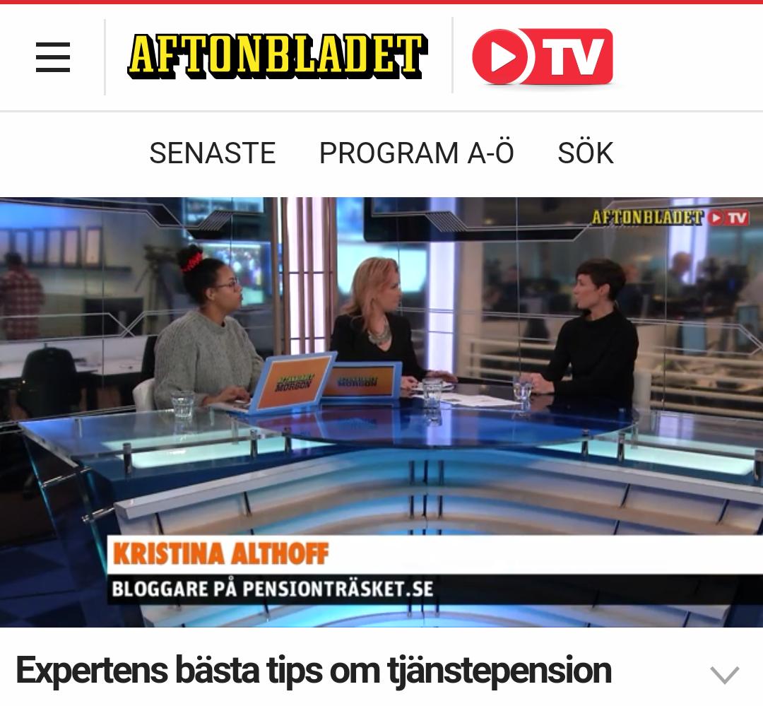 2016-02: Aftonbladet TV