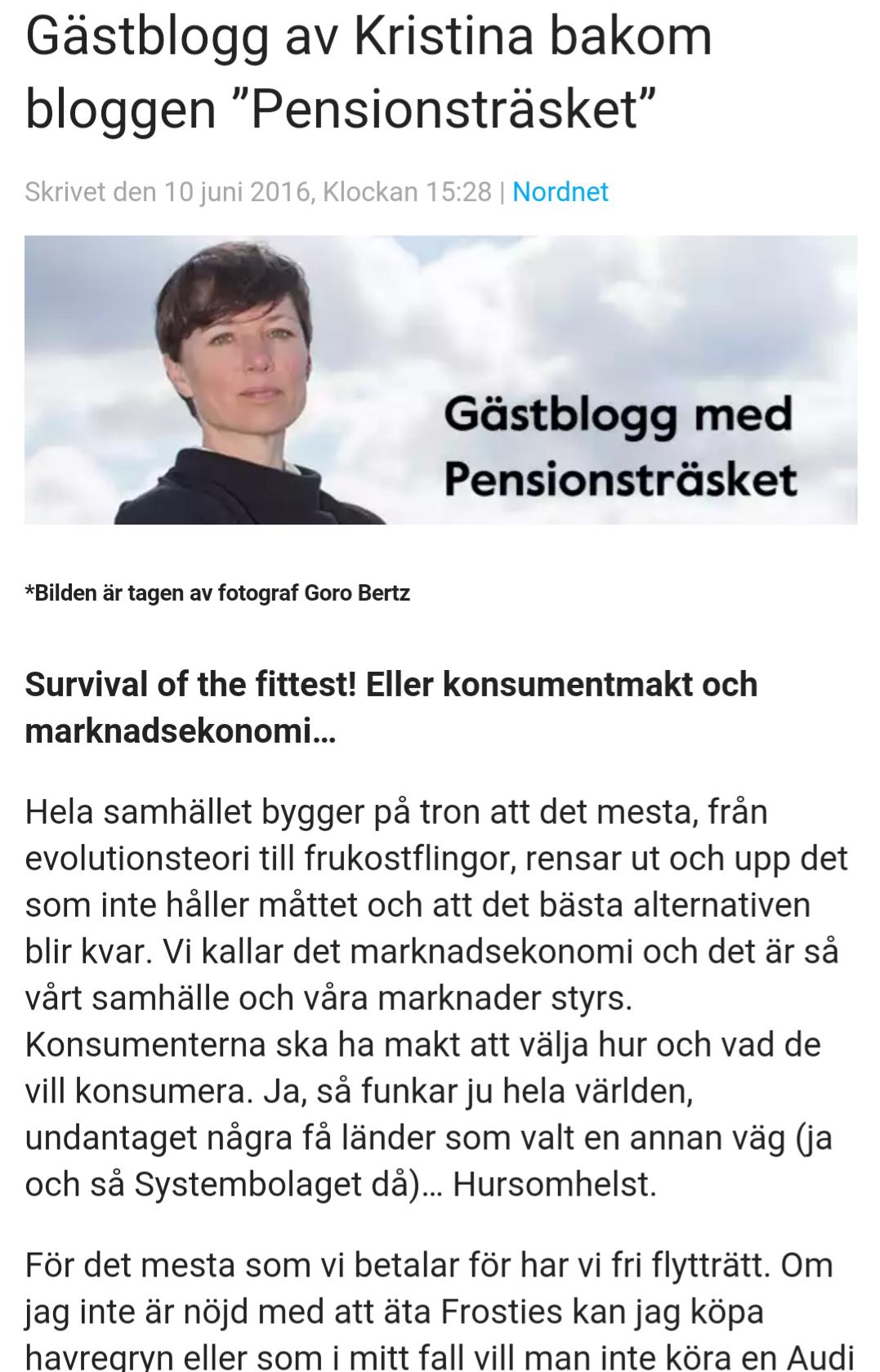 2016-06: Nordnet Gästblogg